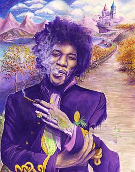 Jimi Hendrix - Risen by Raymond L Warfield jr