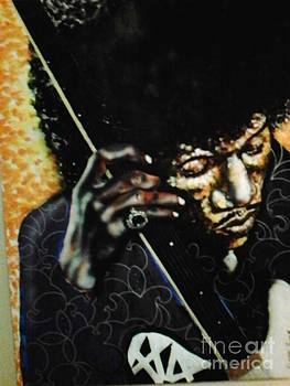 Jimi Sang the Blues by Darryl Hines