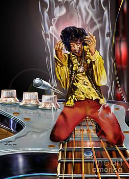 Jimi Up N Smoke - The Jimi Hendrix Series by Reggie Duffie