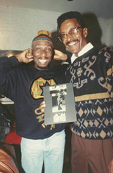 Jimmy Cliff with Eric E by Otis L Stanley
