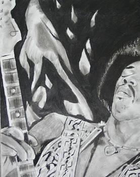 Jimmy Hendrix by Aaron Balderas