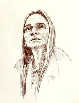 Art By - Ti   Tolpo Bader - Joan Baez