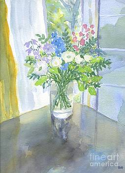Joan's Flowers by Bernice Grundy