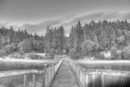 Joemma black and white by Richard Jones