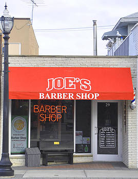 Joe's Barber Shop by Daniel Ness
