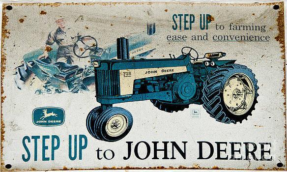 Paul Mashburn - John Deere Tractor Sign