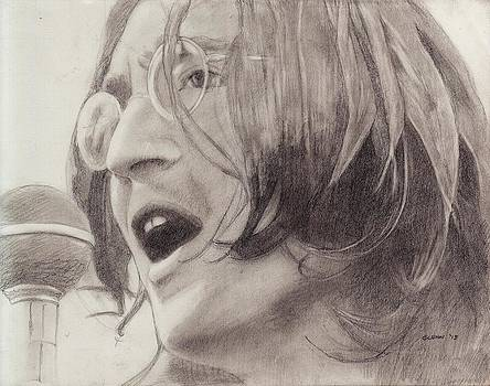 John Lennon 4 by Glenn Daniels