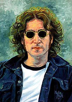 John Lennon '80s by Neil Feigeles