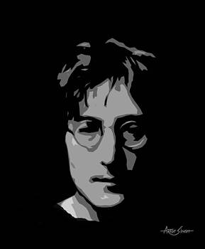 ARTIST SINGH - John Lennon by artist singh