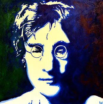 John Lennon by Celina Frisson