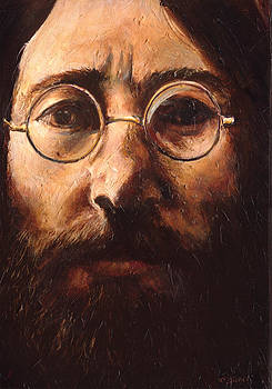 John Lennon by Charles  Bickel