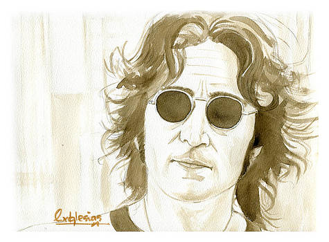 John Lennon by David Iglesias