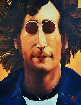 John Lennon   by Edward Pebworth