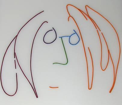 John Lennon Imagine by Peter Virgancz by Peter Virgancz