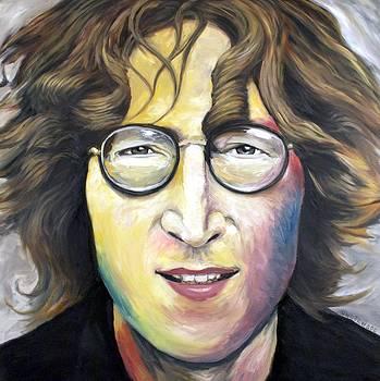 John Lennon Imagine by Mike Underwood