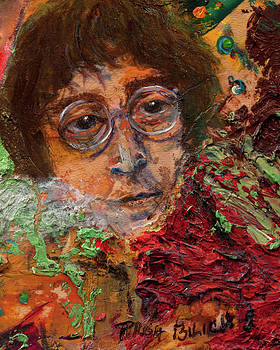 John Lennon In The Thick of Life by Trish Bilich