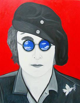 John Lennon by Karen Serfinski