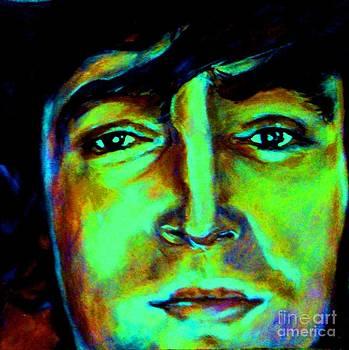 John Lennon Lavender by Misty Smith