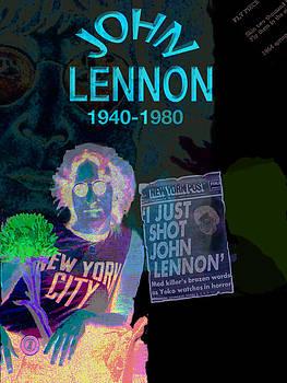 John Lennon by Melinda Saminski