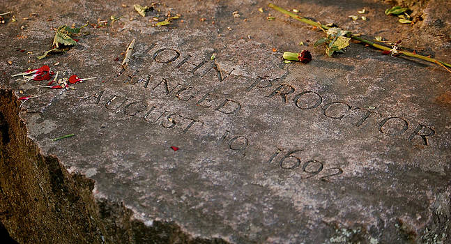 Sherlyn Morefield Gregg - John Proctor Memorial