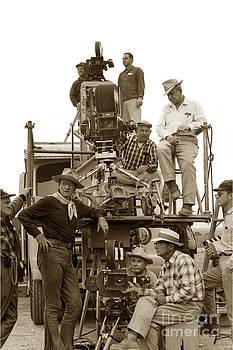 California Views Archives Mr Pat Hathaway Archives - John Wayne and movie camera truck Rio Bravo 1959