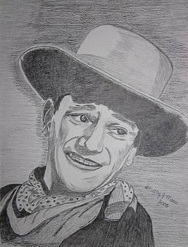 John Wayne by Kathy Marrs Chandler