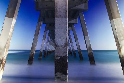 Johnnie Mercer Pier North Carolina by Alina Marin-Bliach