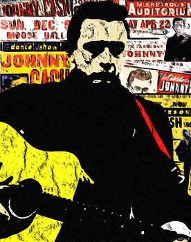 Johnny Cash by GR Cotler
