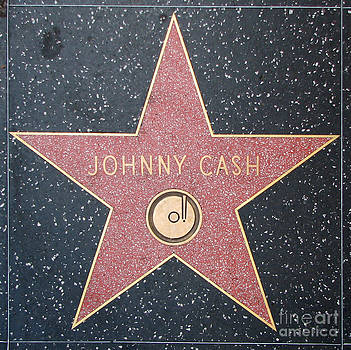 Gregory Dyer - Johnny Cash - Hollywood walk of fame star