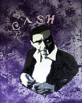 Johnny Cash by Kim Lentz