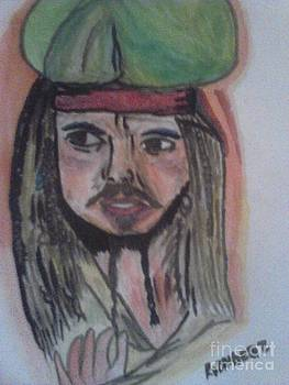 Johnny Depp by Amelia Rodriguez