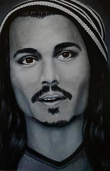 Johnny Depp by David Hawkes