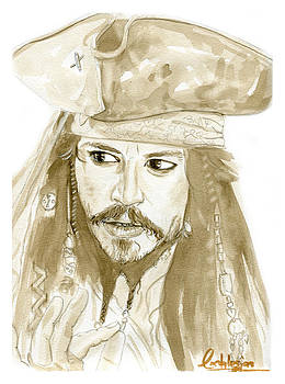 Johnny Depp by David Iglesias