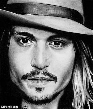 Johnny Depp by Rick Fortson