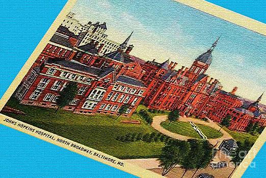 Jost Houk - Johns Hopkins Post Card