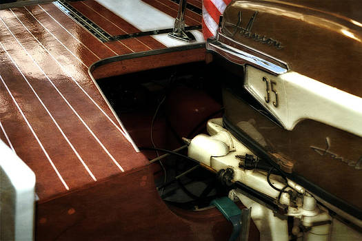 Michelle Calkins - Johnson 35 Vintage Boat Motor