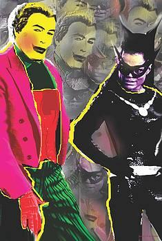 Joker and Cat by Jessie J De La Portillo