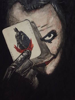 Joker Portrait by Amy Jayne Roper