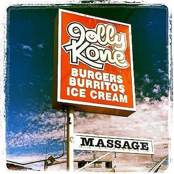 Jolly Kone...massage? #fastfood by HK Moore