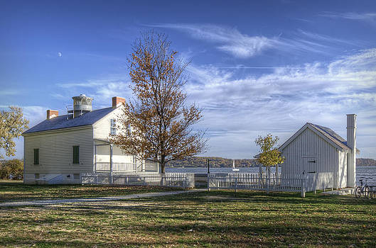 Jones Point Lighthouse by Michael Donahue