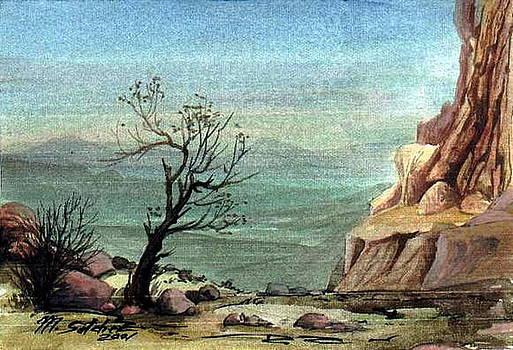 Jordanian Valley by Mikhail Savchenko