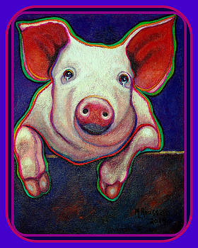 Jose the Crying Pig  SOLD by MarvL Roussan