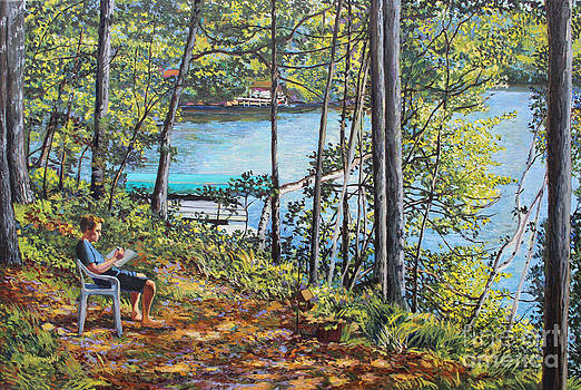 Journal at the Lake by William Bukowski