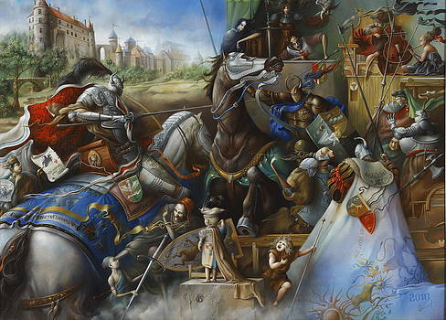 Joust.The end of August.Augustus's end. by Oleg  Osipoff