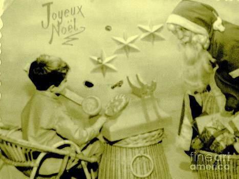 Joyeux Noel - Merry Christmas - Ile De La Reunion - Indian Ocean by Francoise Leandre