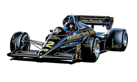 JPS Lotus F-1 Car by David Kyte