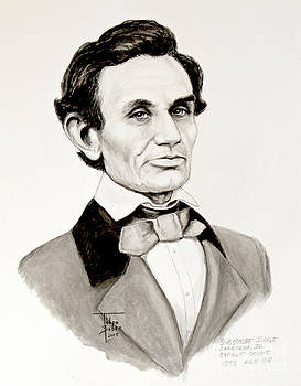 Art By - Ti   Tolpo Bader - Judge Lincoln 1858