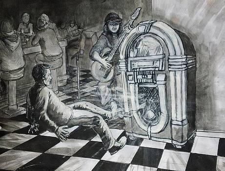 Jukebox Hero by Maria Elena Gonzalez