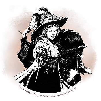 Julie D' Aubigny by Odysseas Stamoglou