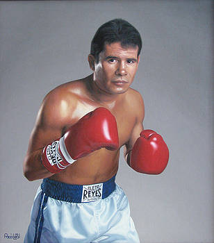 Julio Cesar Chavez by Paco Leal
